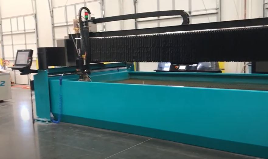 waterjet cutting technology
